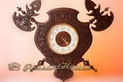 Продам часы из дерева ручной работы