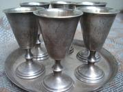антикварный столовый набор