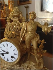 Каминные часы,  Антикварные каминные часы,  ОЧЕНЬ КРАСИВЫЕ,  КОЛЛЕКЦИЯ