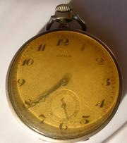 Продаю часы серебряные антикварные Cyma