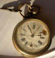 Часы серебряные швейцарские антикварные