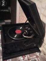 граммофон кабинетный старинный английский