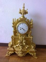 Каминные часы,  антиквариат,  настольные часы