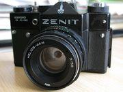 Куплю фотоаппараты,  объективы СССР